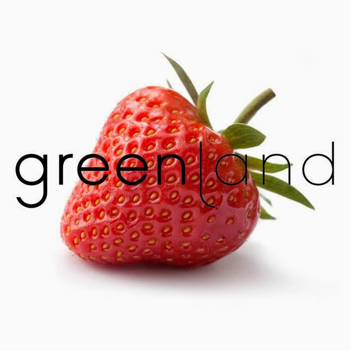 greenland strawberry logo